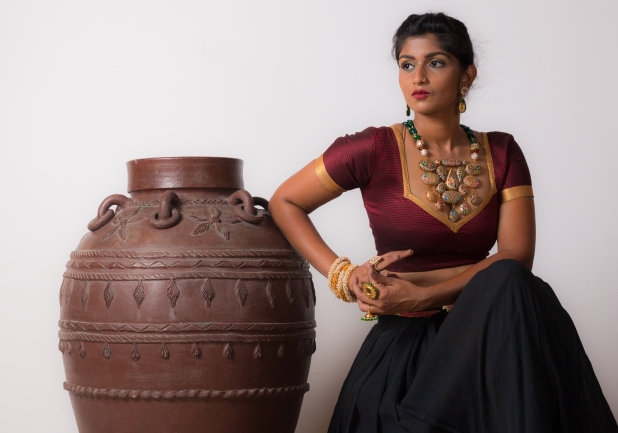 Watch me transform into a South Indian!