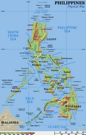 physical-map-of-the-philippines